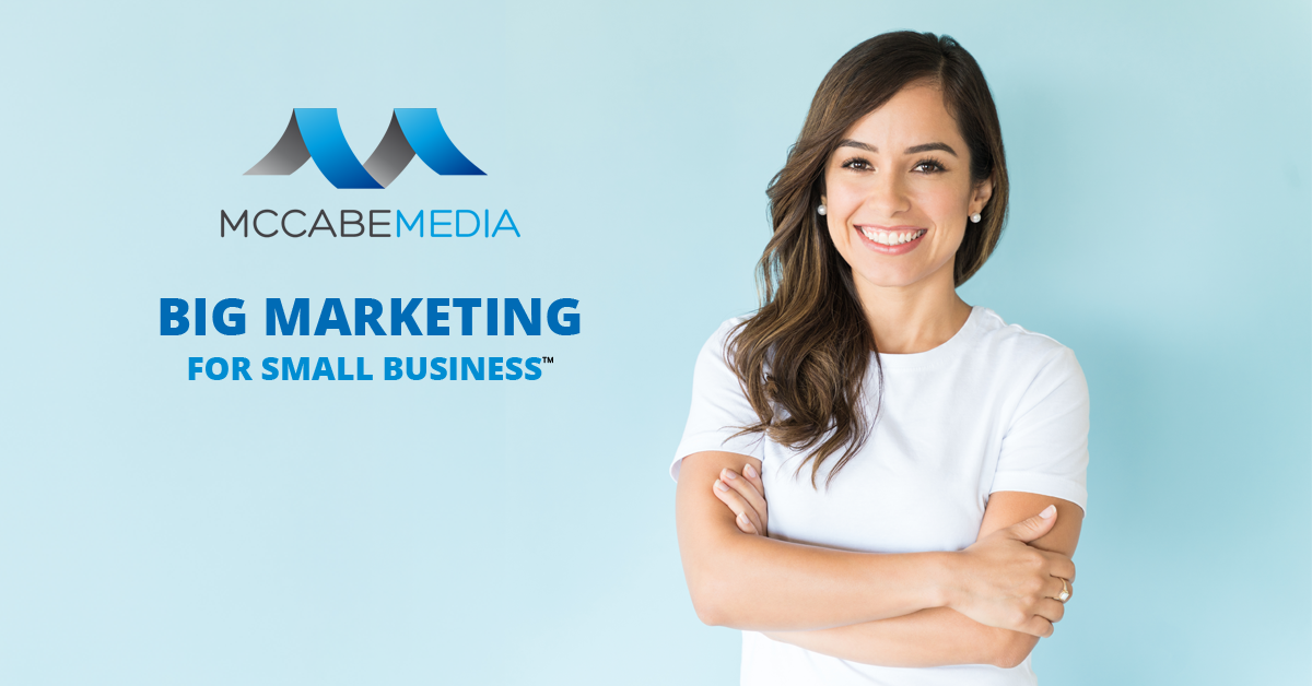BIG Marketing for Small Business. McCabe Media LLC in Cincinnati, Ohio